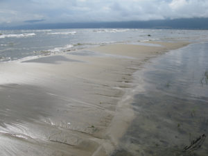 Сеть островов Ярки - вид на Нижнеангарск